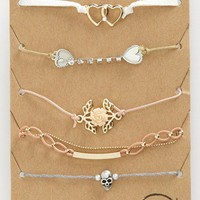 Topshop &#x27;Pretty&#x27; Bracelets (Set of 5) | Nordstrom