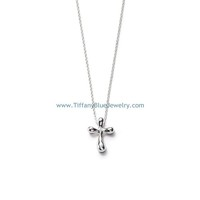 Find The Last Cheap Tiffany & Co Elsa Peretti Cross Pendant Necklace In Tiffanybluejewelry.com