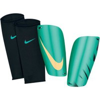 Nike Mercurial Lite Soccer Shin Guards - Teal/Yellow - Dick&#x27;s Sporting Goods