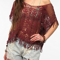 Ecote Island Crochet Kaftan Top
