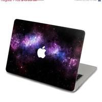 ON SALE Purple Nebula Decal for Macbook Pro, Air or Ipad Stickers Macbook Decals Apple Decal for Macbook Pro / Macbook Air J-019