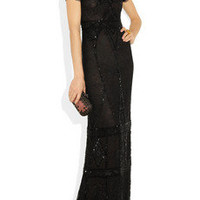 Emilio Pucci | Beaded lace gown | NET-A-PORTER.COM