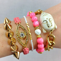 On Wednesdays We Wear Pink Arm Candy Set