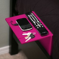 Folding bedside shelf for your iPhone, Droid, & Other Gear