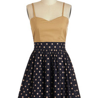 Call It a Day Dress in Khaki | Mod Retro Vintage Dresses | ModCloth.com