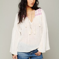 Free People FP ONE Peasant Top