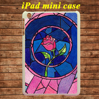 iPad mini case,iPad case--Beauty And The Beast,in plastic case