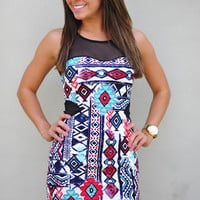 Cutest Cave Woman Dress: Multi | Hope's