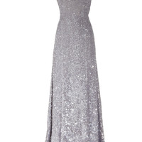 KAUFMANFRANCO Sequined silk gown – 75% at THE OUTNET.COM