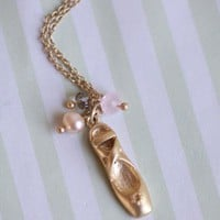 prima ballet necklace