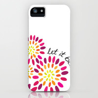 Let it be iPhone Case by Whitney Werner