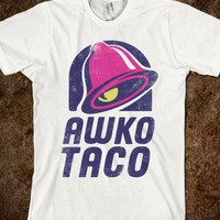 Awko Taco (Vintage Shirt) - The Pyramids - Skreened T-shirts, Organic Shirts, Hoodies, Kids Tees, Baby One-Pieces and Tote Bags
