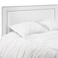 Kate Headboard - White Twill | Headboards | Bedroom | Furniture | Z Gallerie