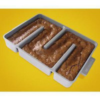ThinkGeek :: All Edges Brownie Pan