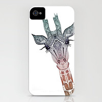 GiRAFFE iPhone Case by Mnika  Strigel	 | Society6