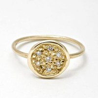 Catbird Lucky Seven Diamond Ring