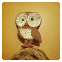 Retro Owl Whimsical Wall hanging
