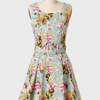 mikayla floral dress by Darling UK at ShopRuche.com