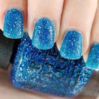 OPI Mariah Carey Collection - Liquid Sand Nail Lacquer, Get Your Number 0.5 Fl. Oz.