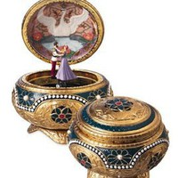 Anastasia - Alexandra & Nicholas - Hinged Trinket Box: Home & Kitchen