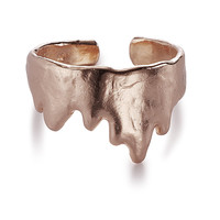 DEW OF DREAMS Fingertip Ring, Rose Gold
