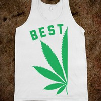 White Tank | Cute Weed Bff Shirts