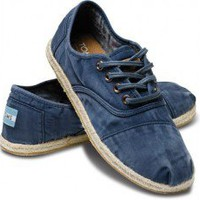 Blue Ceara Women&#x27;s Cordones | TOMS.com