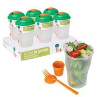 Amazon.com: DCI I Am a To Go Cup Food Container: Kitchen & Dining