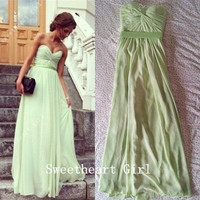 Charming Sweetheart Floor Length Prom Dresses/Graduation Dress
