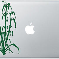 Bamboo apple moon laptop DECAL macbook iPad computer by EyvalDecal