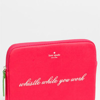 kate spade new york 'whistle while you work' iPad sleeve | Nordstrom