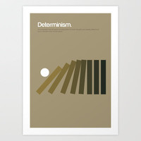 Determinism Art Print by Genis Carreras