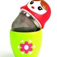 Babushka Russian Nesting Doll Novelty Tea Infuser-Assorted Colors