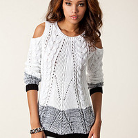 Cut Out Shoulder Cable, River Island