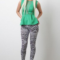 Aztec History Leggings
