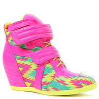 *Sole Boutique The Electric Sneaker in Pink Multi : Karmaloop.com - Global Concrete Culture