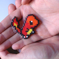 Pokemon Brooch - Charmander Fan Art Pin
