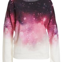 Cosmic Fade Sweat Top - Bardot