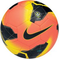 Nike Strike CBF Soccer Ball - Orange/Black - Dick&#x27;s Sporting Goods