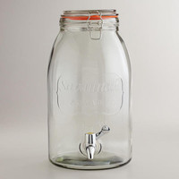 Savannah Embossed Drink Dispenser | World Market