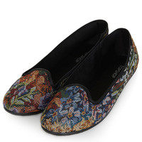 TRUDI Tapestry Slippers - New In This Week - New In - Topshop USA