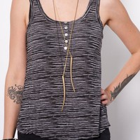 Yes Stripe Tank- Womens | Little Paper Planes
