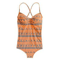 Shapeshift String Tanksuit - one piece swimsuits - Women&#x27;s SWIM - Madewell