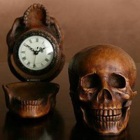 Skull Clock | Z Gallerie