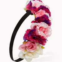Rose Garland Headwrap | FOREVER21 - 1054989047