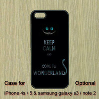 Wonderland -- iphone 5 case , iphone 4S case , Samsung Galaxy S3 case , Galaxy note 2  case