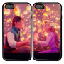 The Rapunzel Tangled Custom couple Case for iPhone 4 and iPhone 5 case.