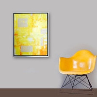 WiNK original abstract modern painting  gallery by linneaheideart