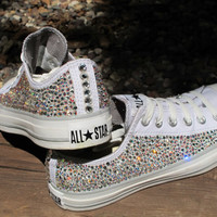 Rhinestone Converse AllStars NOT INCLUDING by TheSparklingEffect