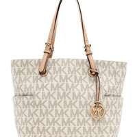 MICHAEL Michael Kors  Jet Set Logo Item Tote